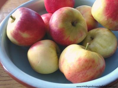 appels voor appelmoes zonder suiker